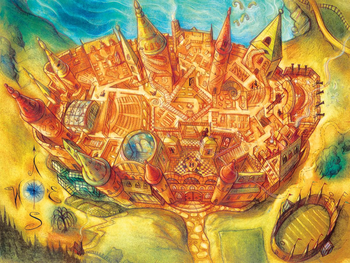 Hogwarts (Harry Potter) Castles Jigsaw Puzzle