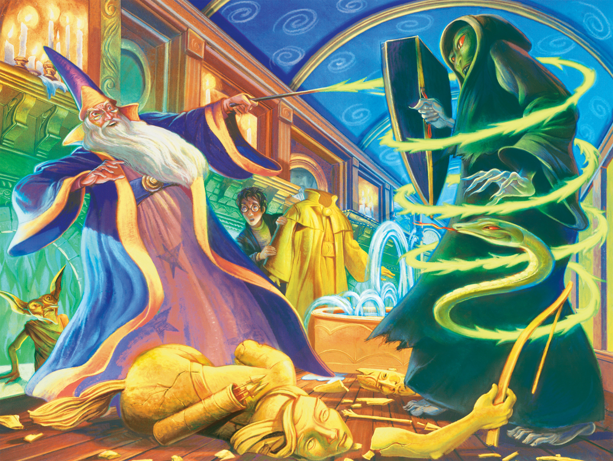 Dueling Wizards (Harry Potter) Movies / Books / TV Jigsaw Puzzle