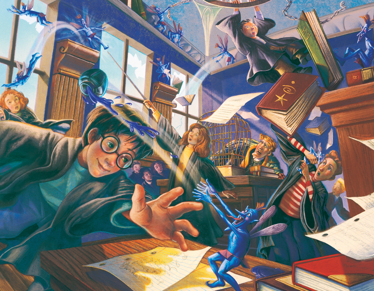 Pixie Mayhem (Mini) Harry Potter Jigsaw Puzzle