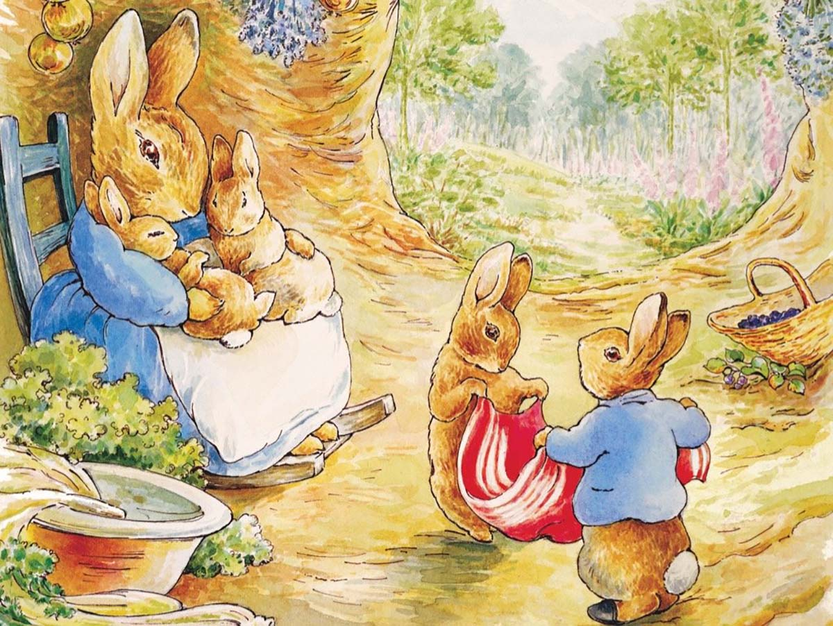 Peter Rabbit's Home Graphics / Illustration Jigsaw Puzzle