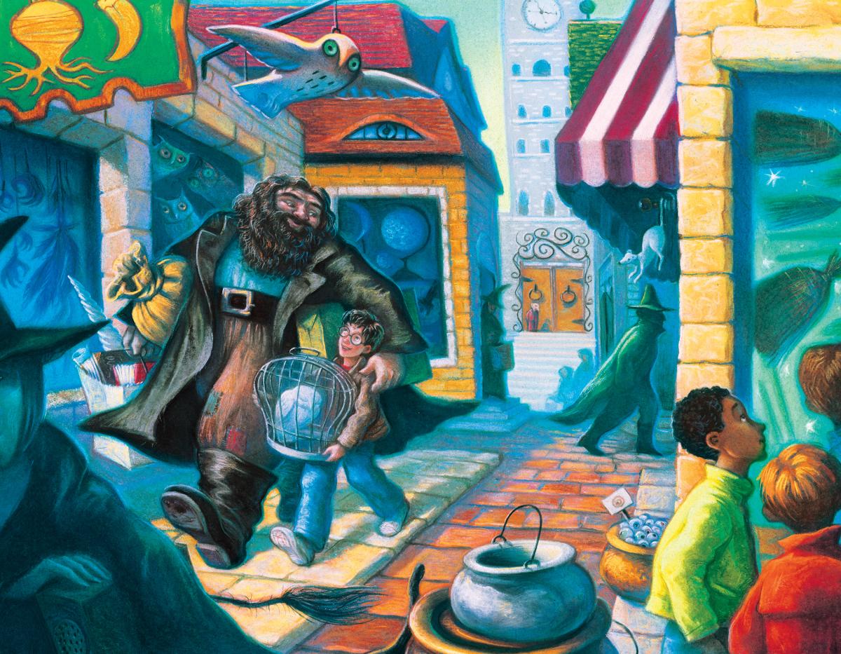 Diagon Alley  (Mini) Movies / Books / TV Jigsaw Puzzle
