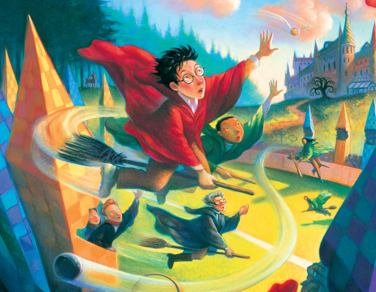 Quidditch Mini Jigsaw Puzzle Puzzlewarehouse Com