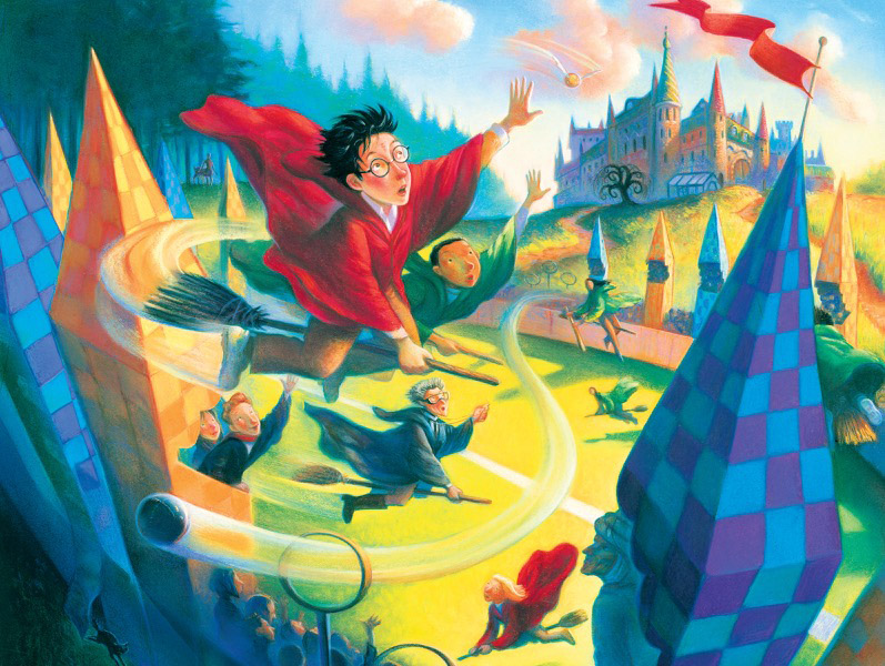 Quidditch 500 (Harry Potter) Fantasy Jigsaw Puzzle
