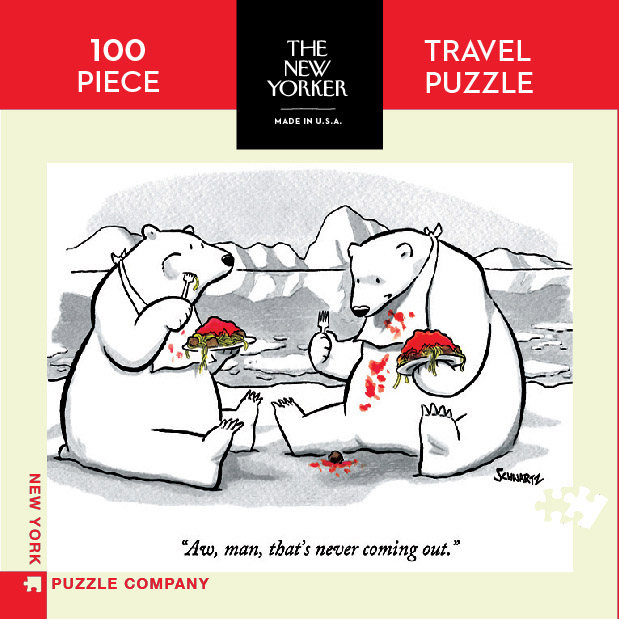 Never Coming Out  (Mini) Cartoons Jigsaw Puzzle