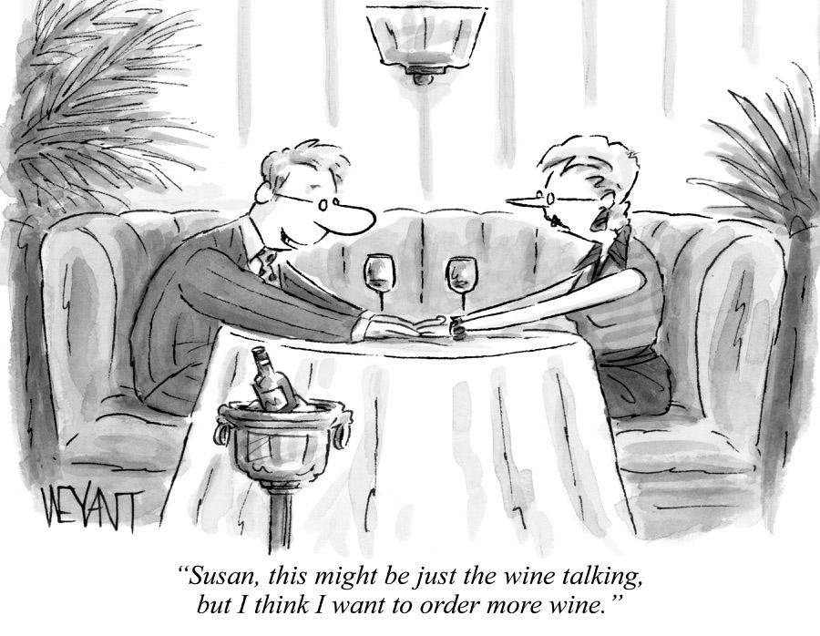 Wine Talking (Mini) Cartoons Jigsaw Puzzle