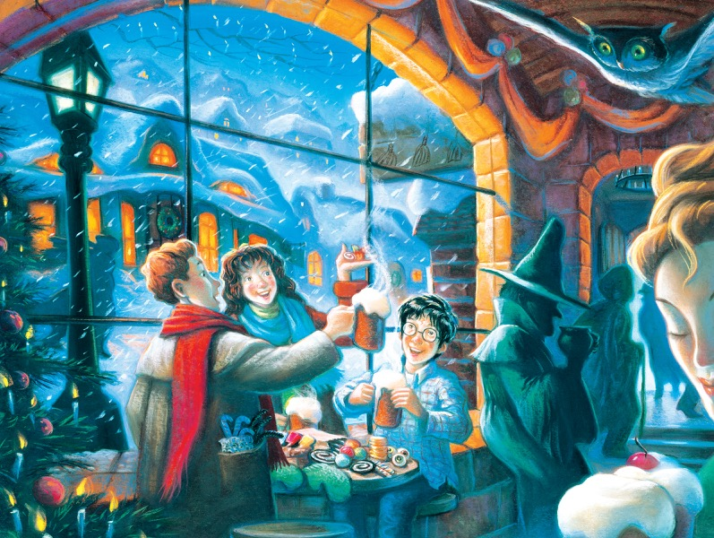 Three Broomsticks (Harry Potter) Winter Jigsaw Puzzle
