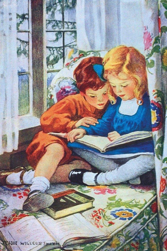 Открытка, чтение для детей открытки