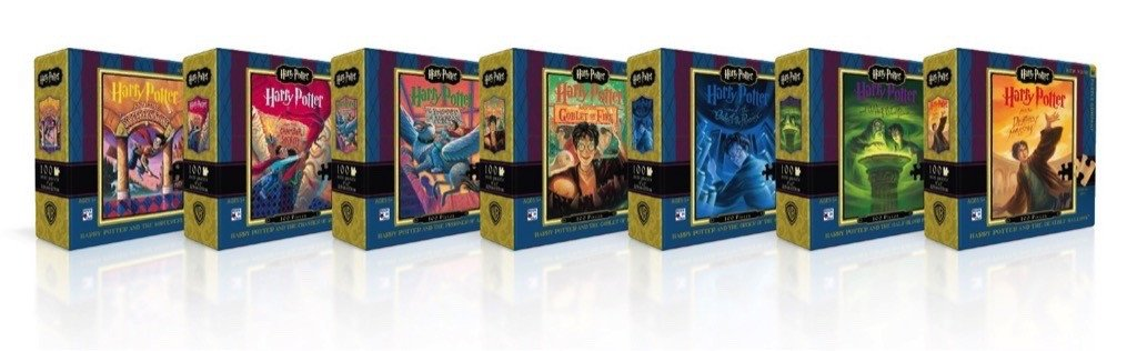 Harry Potter Mini Puzzle Collector's Set Harry Potter Jigsaw Puzzle