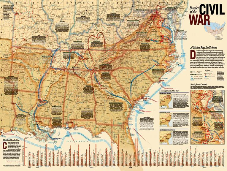 Civil War Battles Graphics / Illustration Jigsaw Puzzle