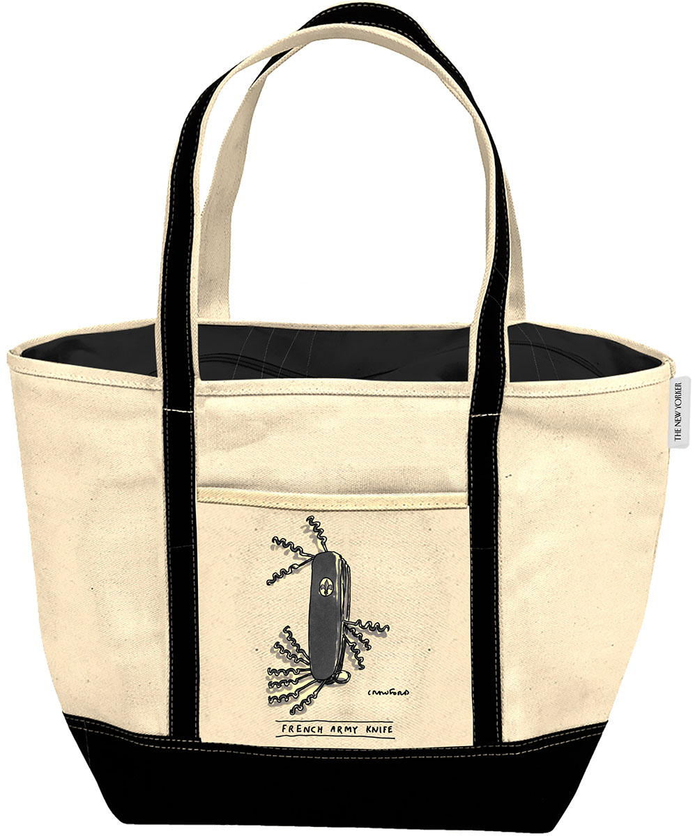 French Army Knife Tote