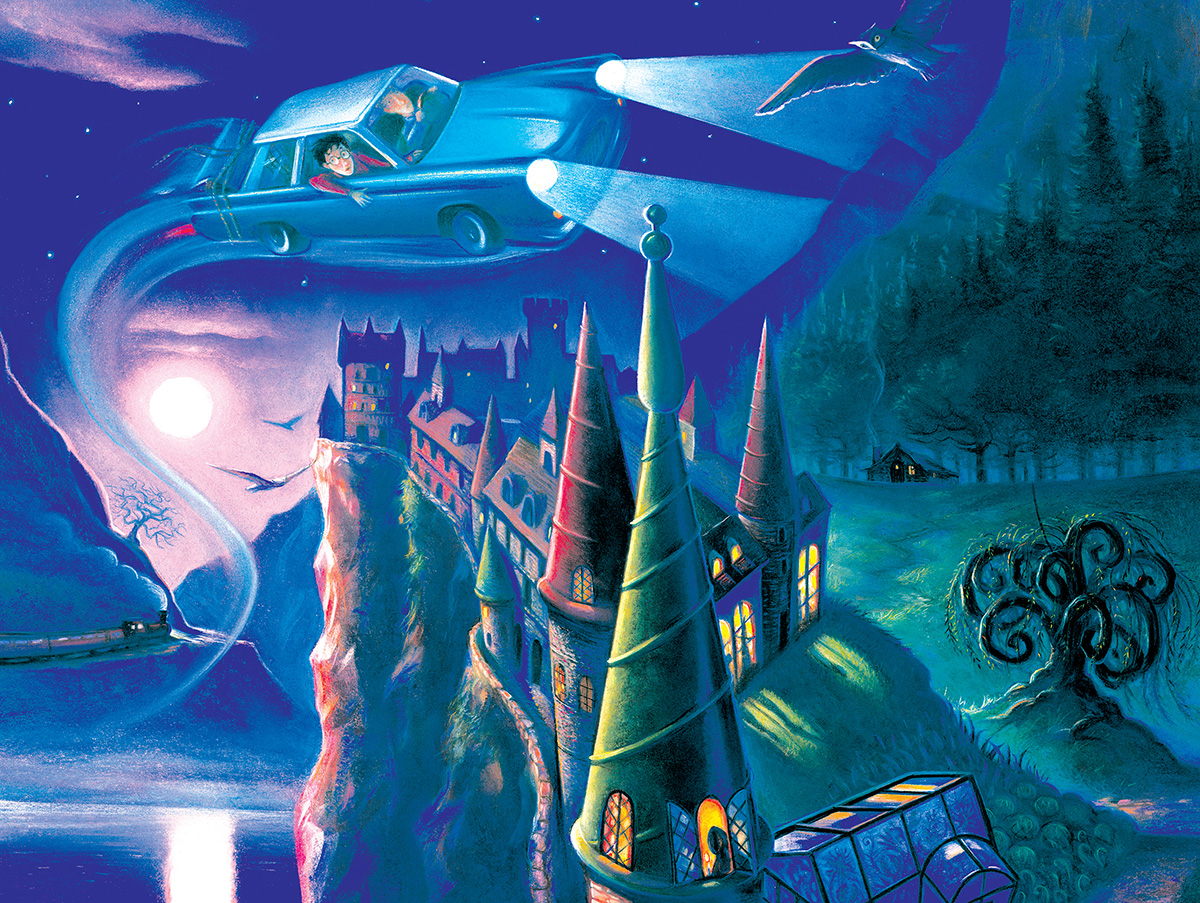 Journey to Hogwarts (Harry Potter) Fantasy Jigsaw Puzzle