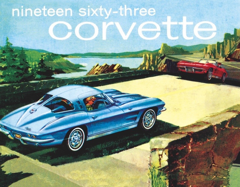1963 Corvette (Mini) Cars Jigsaw Puzzle