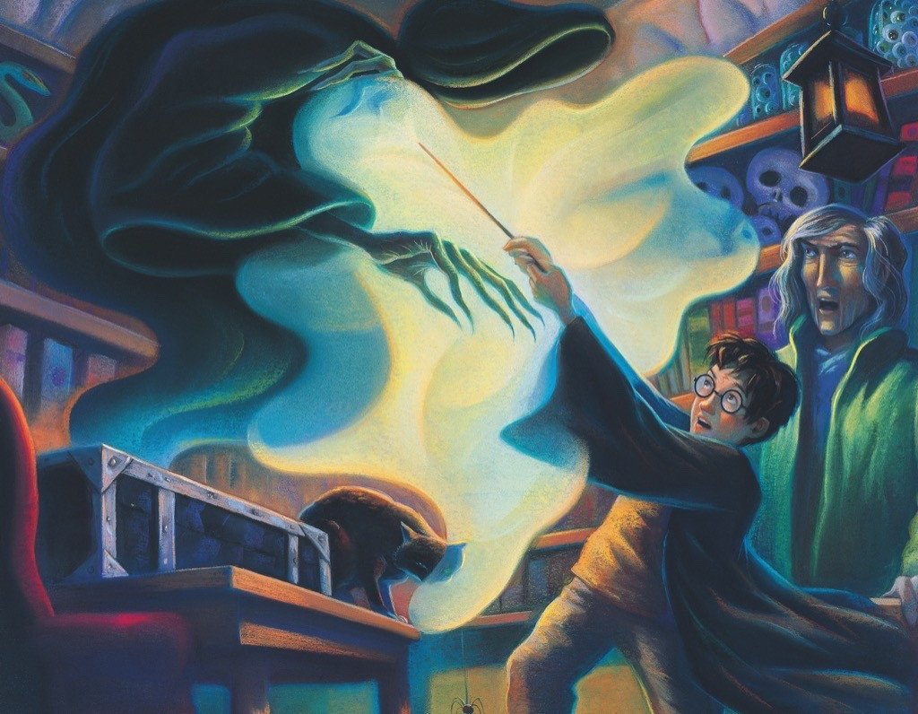 Patronus Practice (Mini) Harry Potter Jigsaw Puzzle