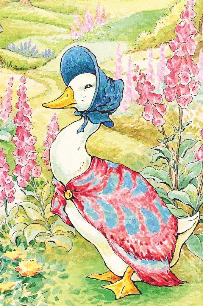 Jemima Puddle-Duck (Mini) Movies / Books / TV Jigsaw Puzzle