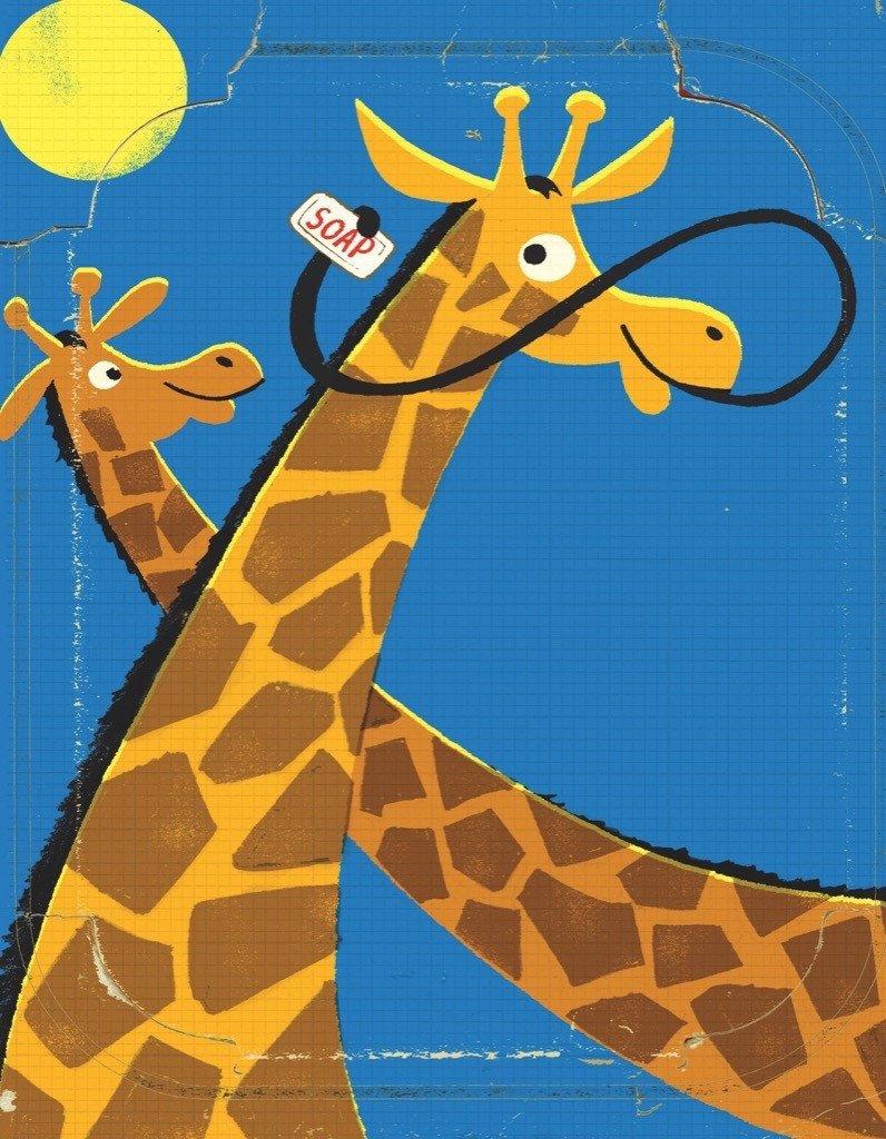 Giraffes  (Mini) Animals Jigsaw Puzzle