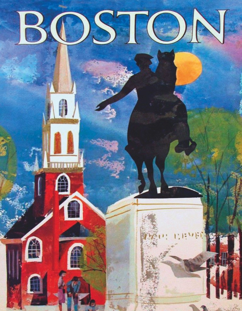 Boston (Mini) Boston Jigsaw Puzzle