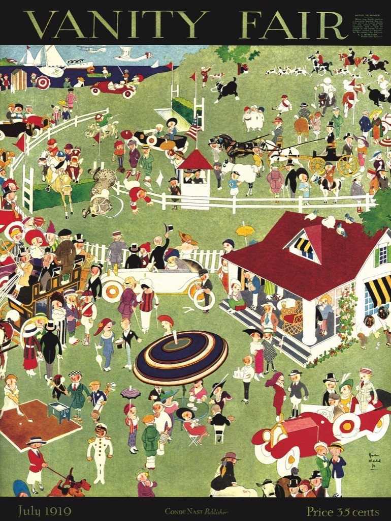 A Day at the Races Nostalgic / Retro Jigsaw Puzzle