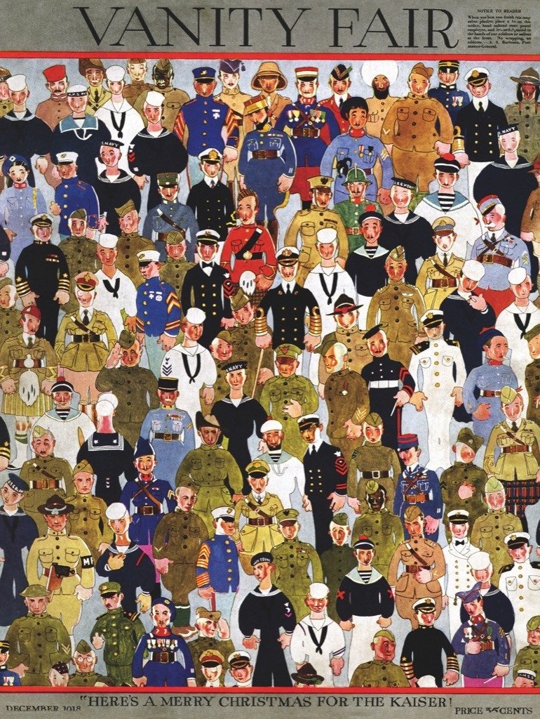 Military Men Magazines and Newspapers Jigsaw Puzzle