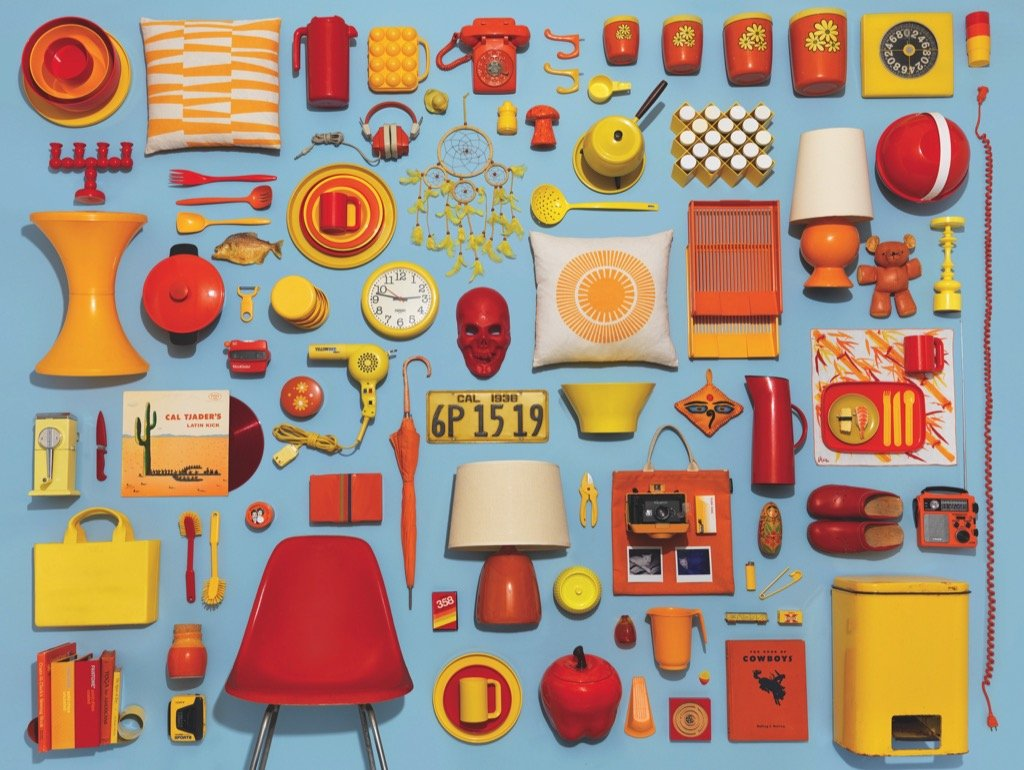 Housewares Collection Everyday Objects Jigsaw Puzzle