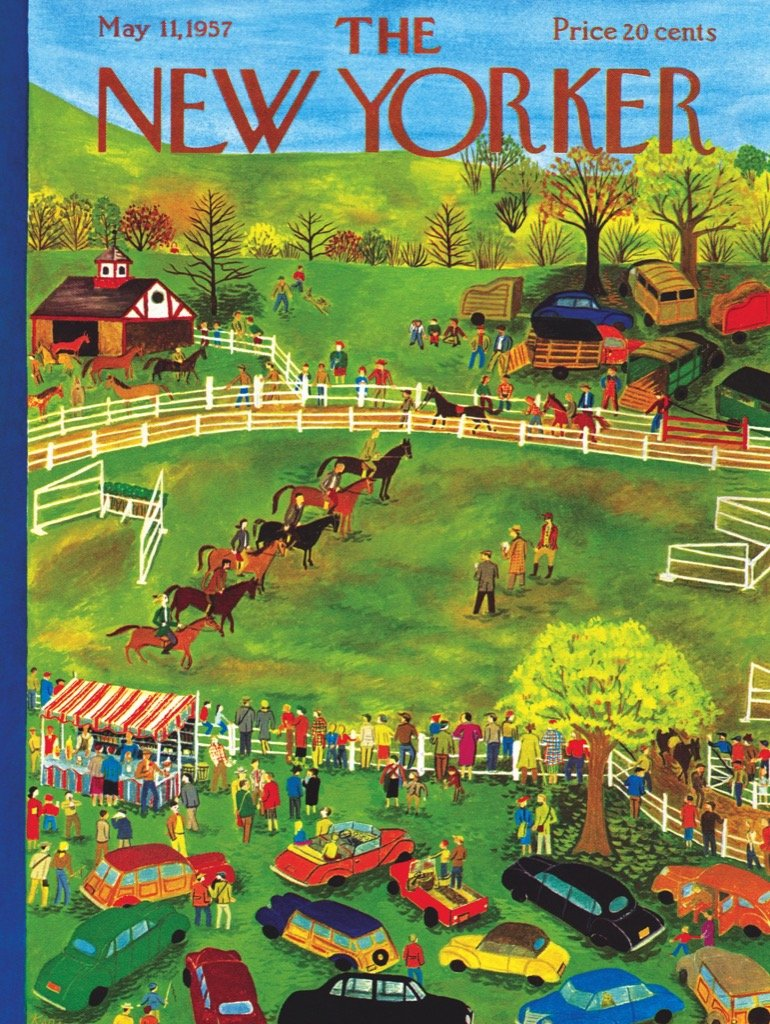 Horse Show Horses Jigsaw Puzzle