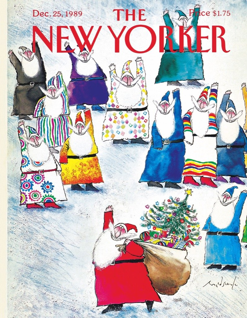 Santa And Cousins (Mini) Magazines and Newspapers Jigsaw Puzzle