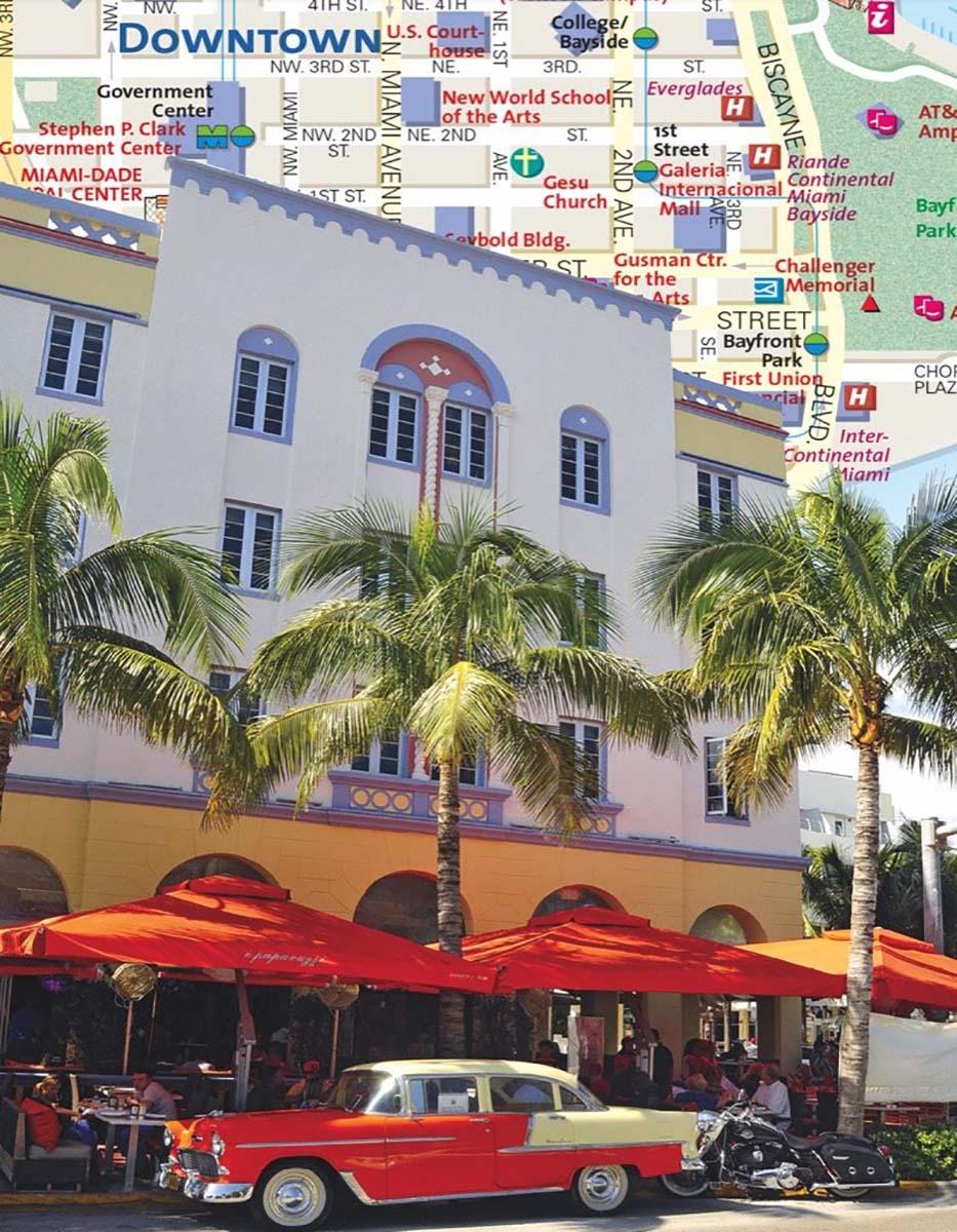 Downtown Miami (Mini) Maps / Geography Jigsaw Puzzle
