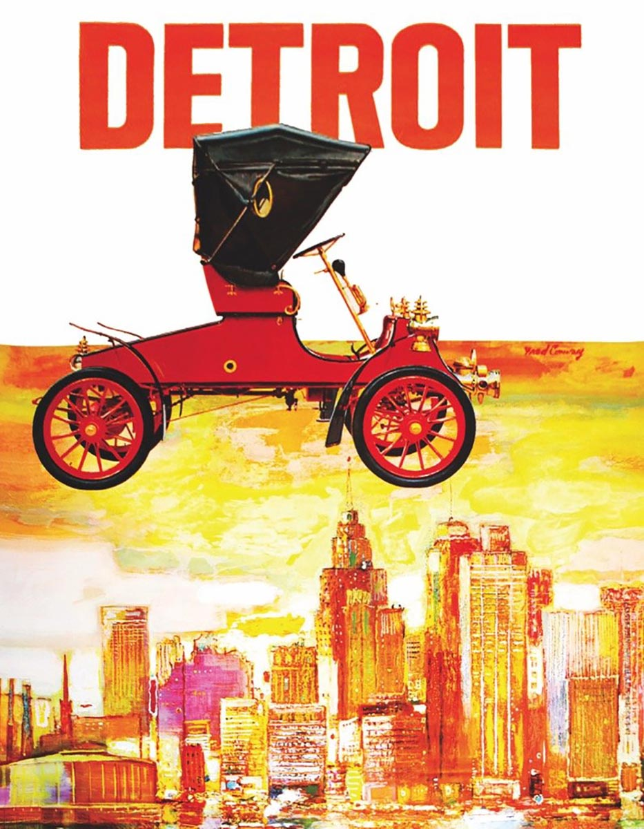 Motor City (Mini) Travel Jigsaw Puzzle