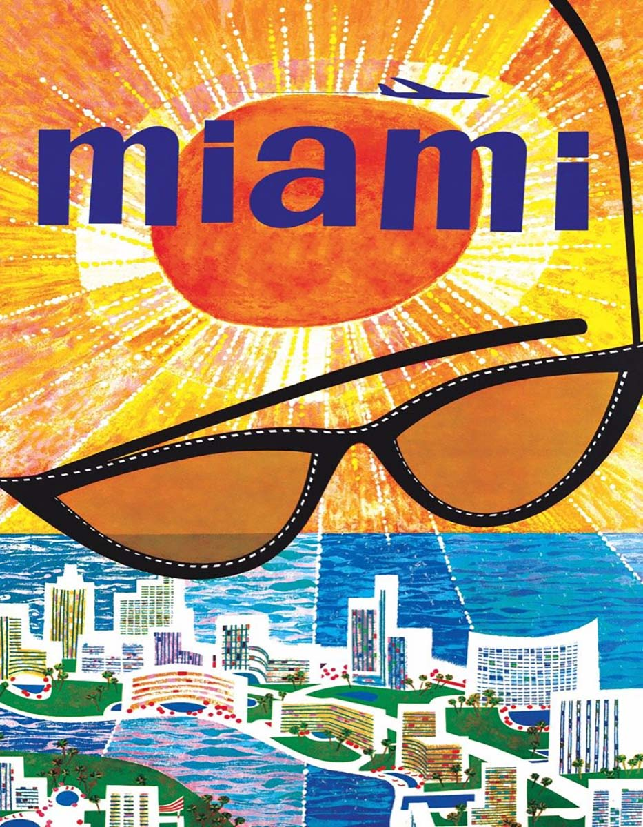 Miami Beach (Mini) Travel Jigsaw Puzzle