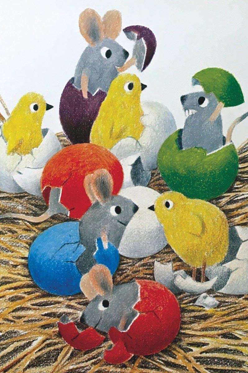 Happy Hatching (Mini) Graphics / Illustration Jigsaw Puzzle