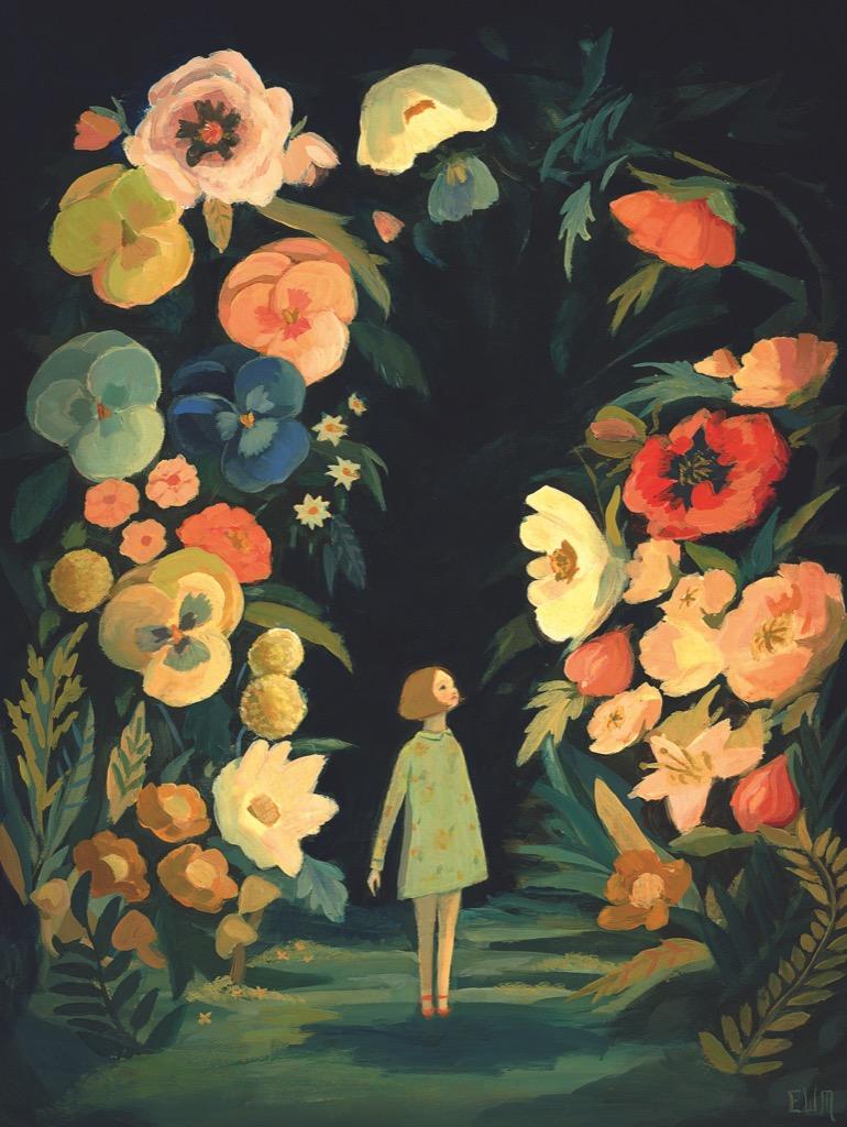 The Night Garden Flowers Jigsaw Puzzle