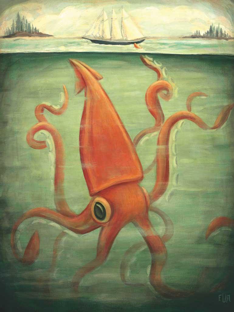 Kraken Underneath Animals Jigsaw Puzzle