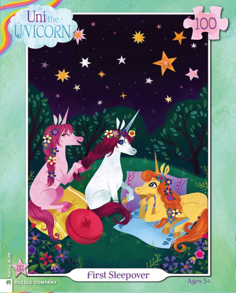 First Sleepover Unicorns Jigsaw Puzzle