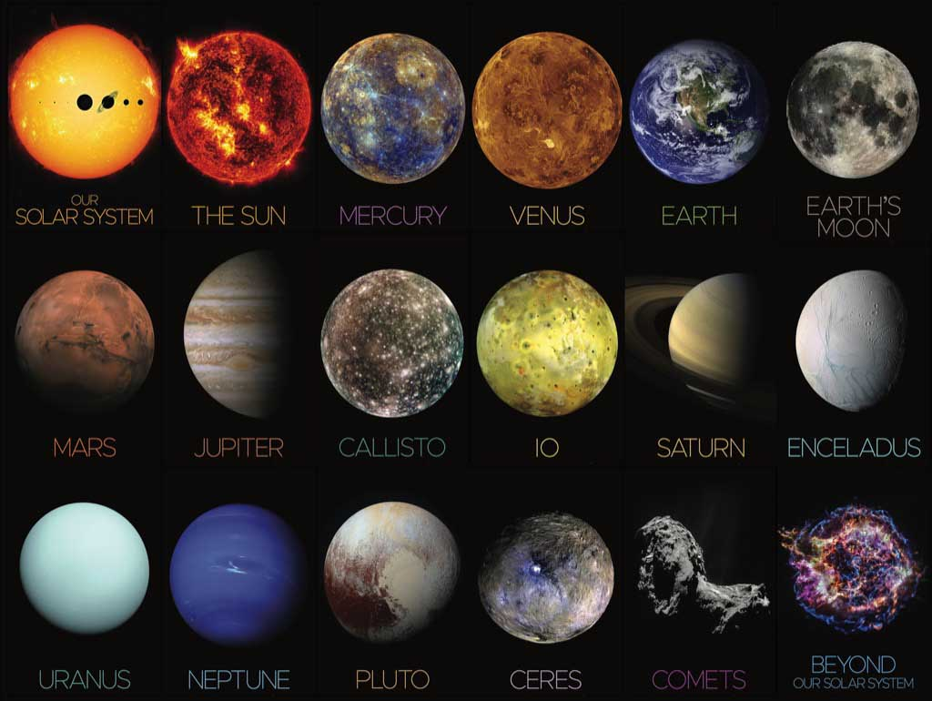 The Solar System - Scratch and Dent Space Jigsaw Puzzle