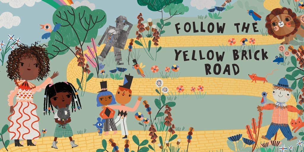 Yellow Brick Road Movies / Books / TV Jigsaw Puzzle