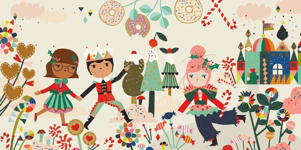 Sugar Plum Fairy Christmas Jigsaw Puzzle