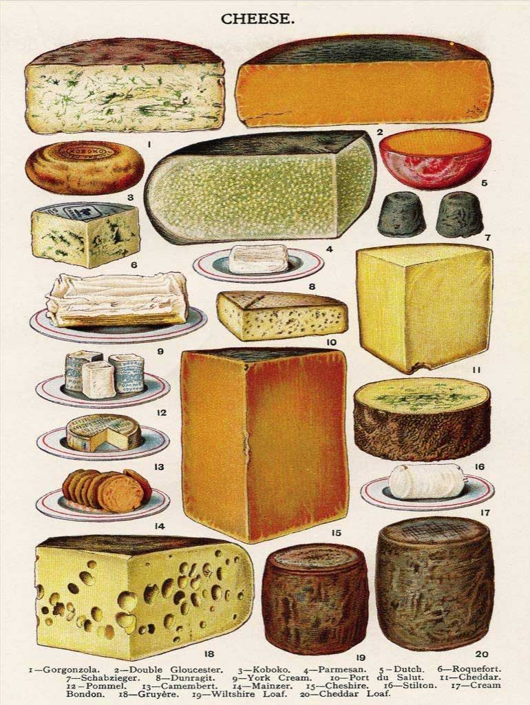 Cheese Food and Drink Jigsaw Puzzle
