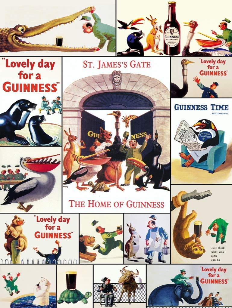 Who's Got the Guinness? Animals Jigsaw Puzzle