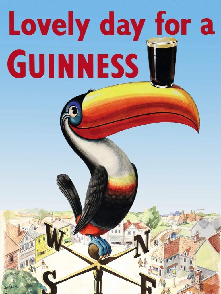 Lovely Day for a Guinness Birds Jigsaw Puzzle