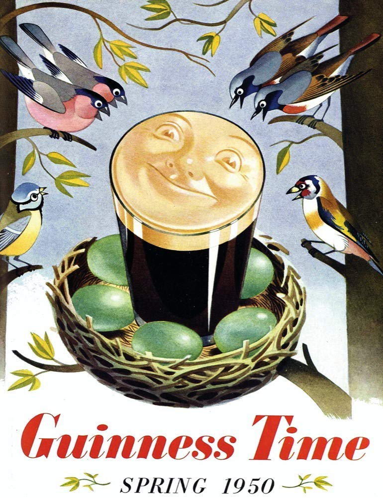Guinness Calls - Scratch and Dent Birds Jigsaw Puzzle