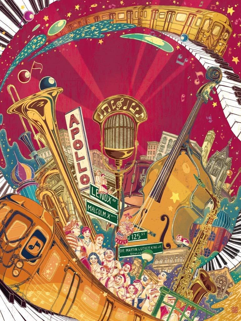 Harlem Serenade Music Jigsaw Puzzle