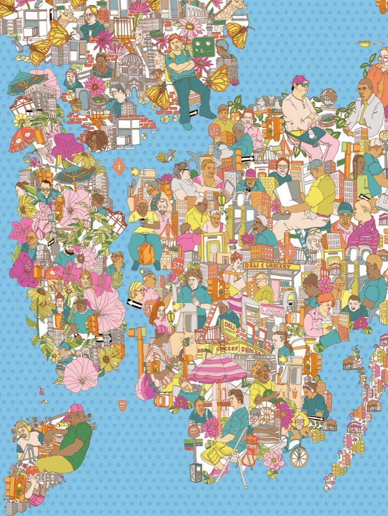 City of Dreamers Maps / Geography Jigsaw Puzzle