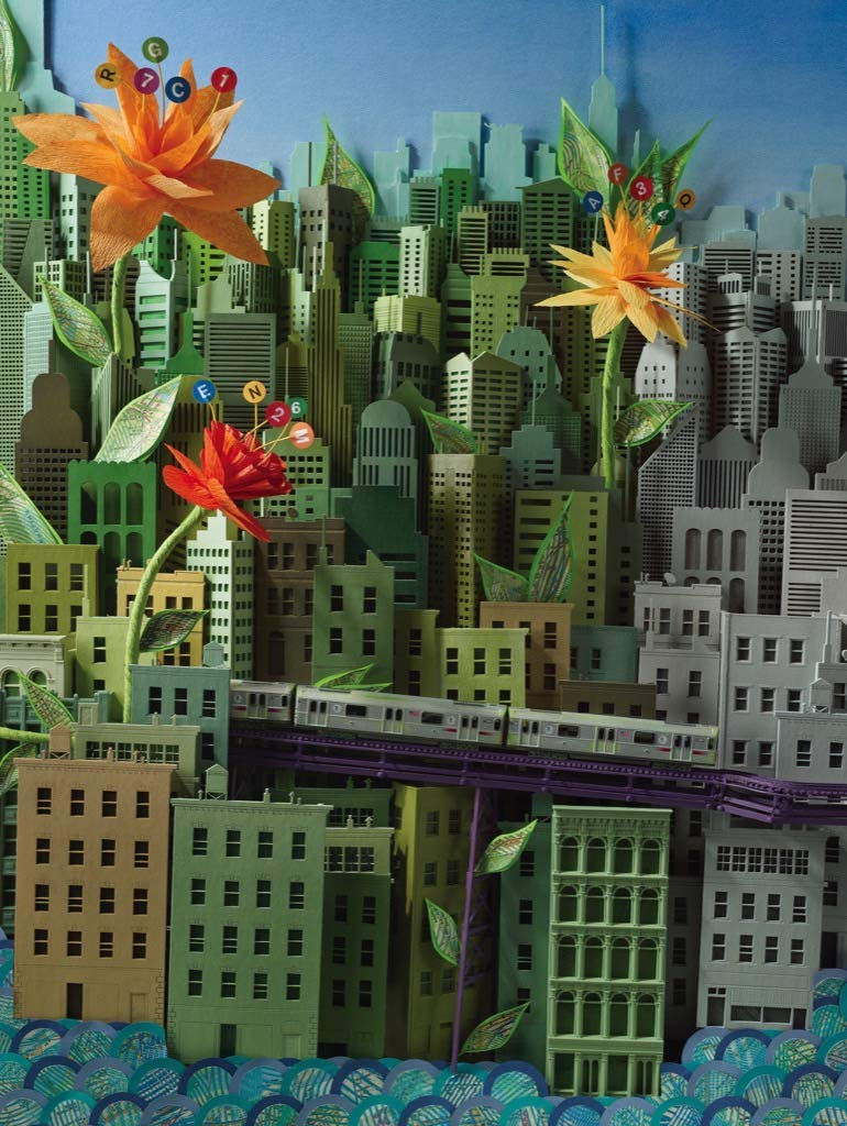 Smarter Greener Better Flowers Jigsaw Puzzle