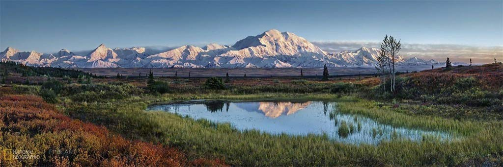 Denali National Park Mountains Jigsaw Puzzle