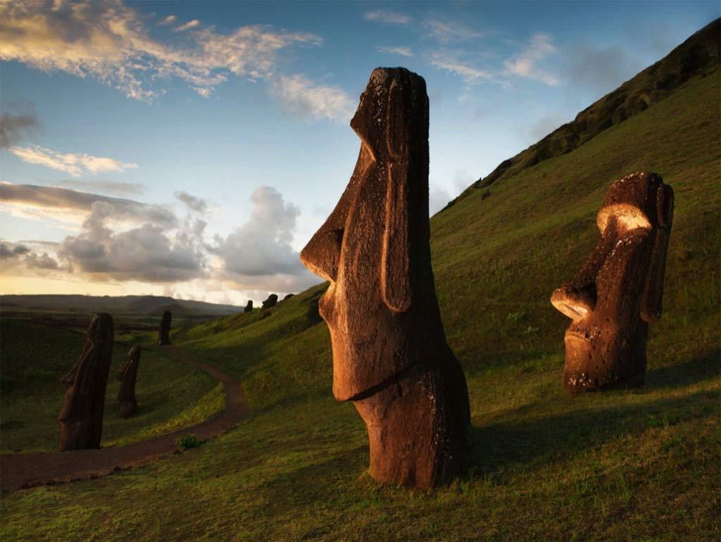 Rapa Nui Easter Island Travel Jigsaw Puzzle