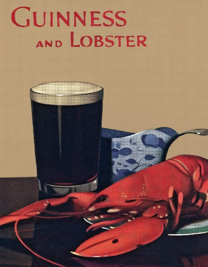Guinness And Lobster  (Mini) Food and Drink Jigsaw Puzzle