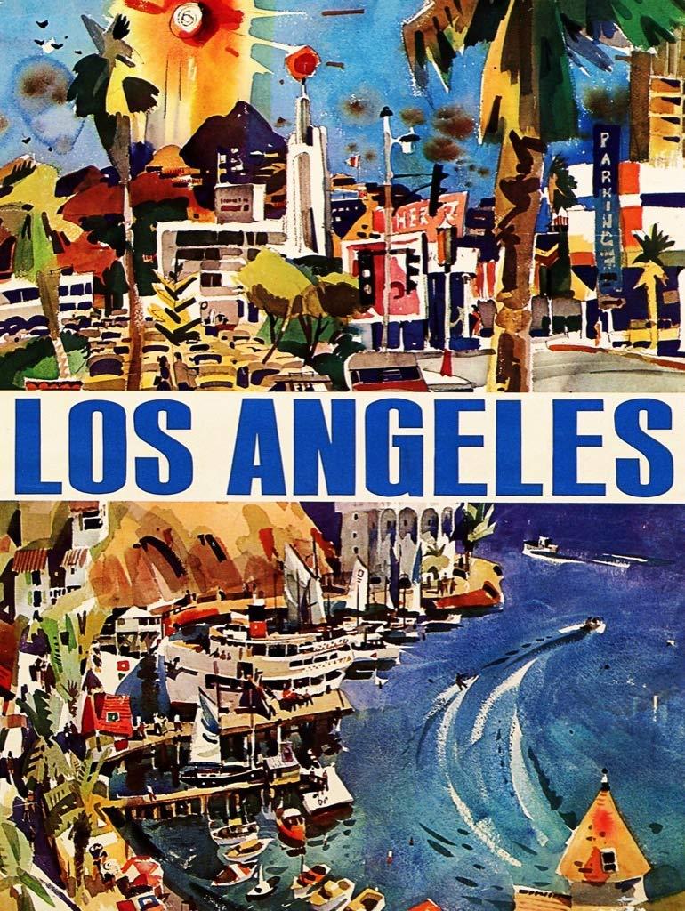 La La Land Travel Jigsaw Puzzle