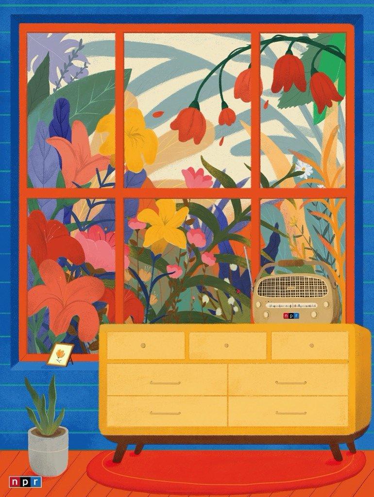 Verdant Voices Graphics / Illustration Jigsaw Puzzle