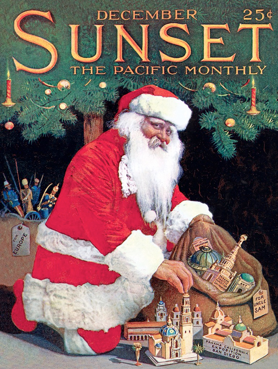 Gifts For The World Santa Jigsaw Puzzle