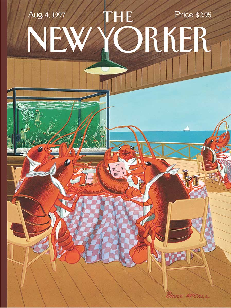 Lobsterman's Special Magazines and Newspapers Jigsaw Puzzle