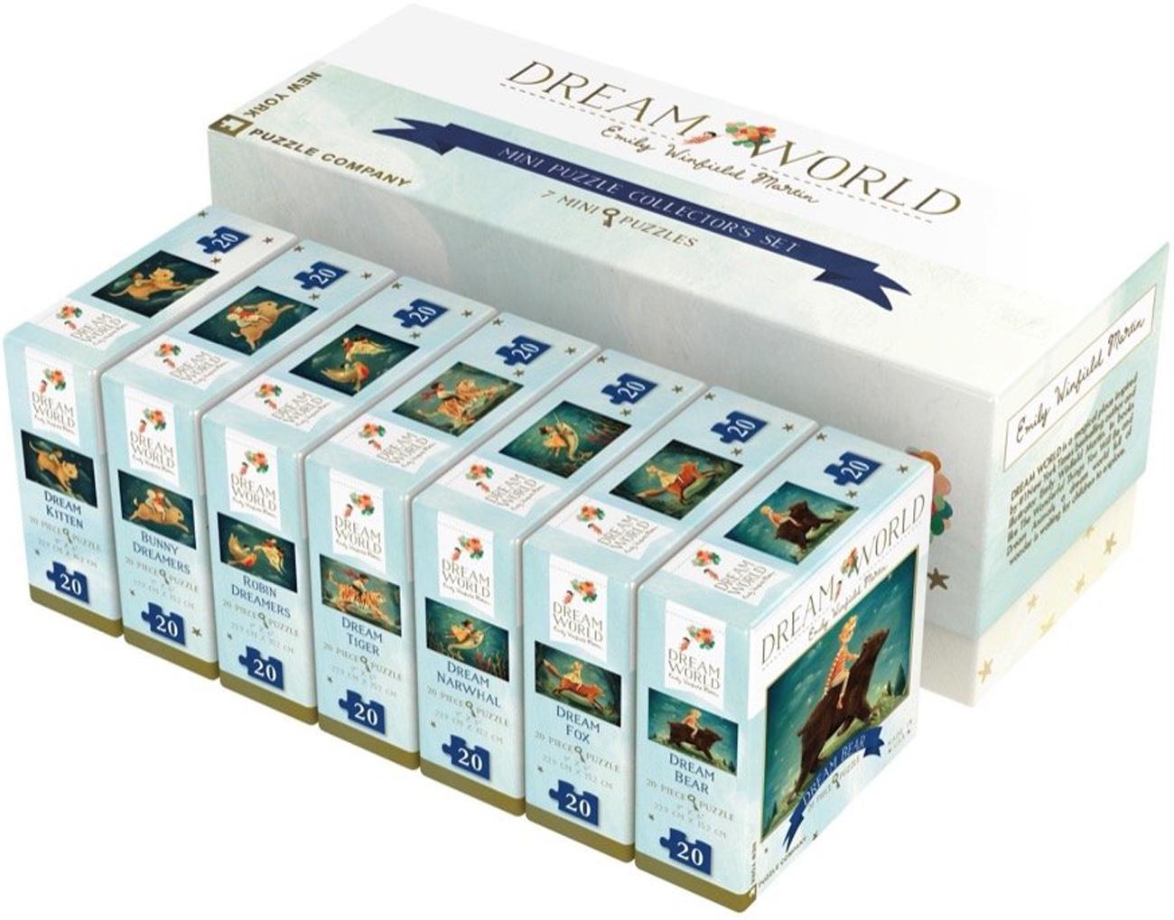 Dream World Mini Puzzle Collector's Set Movies / Books / TV Jigsaw Puzzle